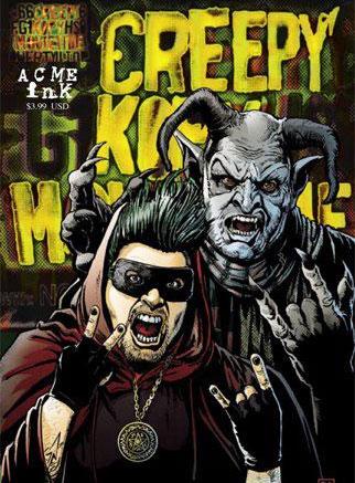 Creepy Kofy Movietime Comic